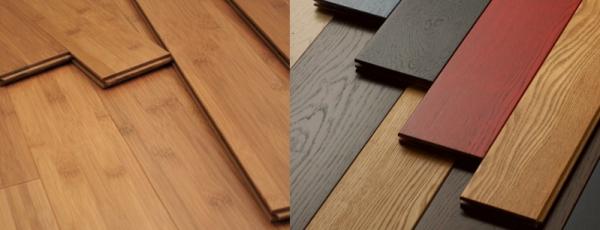 О выборе напольных покрытий для Вашего дома. Паркет, плитка, ламинат или массивная доска?